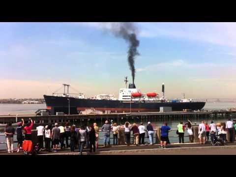 2014 SUNY Maritime Summer Sea Term Departure May 12, 2014
