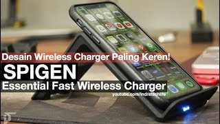 Wireless Fast Charging Desain Minimalis & Futuristik by Spigen - iTechlife