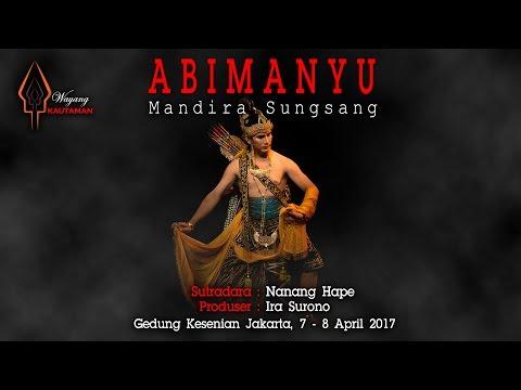 """Agus Prasetyo, pemeran Kresna di """"ABIMANYU, Mandira Sungsang"""" - Wayang Kautaman"""