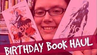 INSANE BIRTHDAY BOOK HAUL Thumbnail