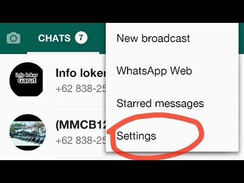 Cara Menyimpan Foto Di Whatsapp Youtube