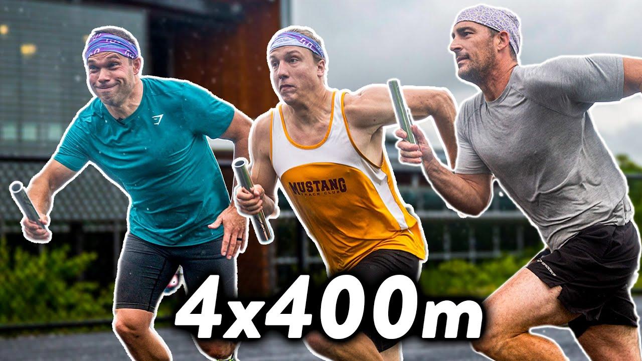 FANTASTIC 4x400m Relay! Season Finale #NSTC