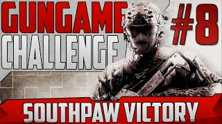 SOUTHPAW LAYOUT! - GUNGAME CHALLENGE #8 (COD: Black Ops 2)