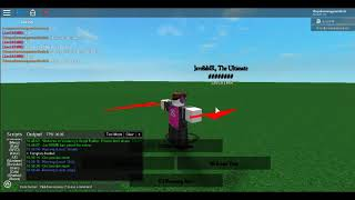 Roblox Script Showcase #5 The Ultimate Edgelord(Leaked...)