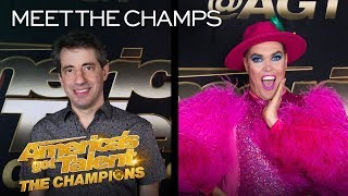 Hilarious Icons Hans and Dan Naturman Are FUNNIER Than Ever! - America's Got Talent: The Champions