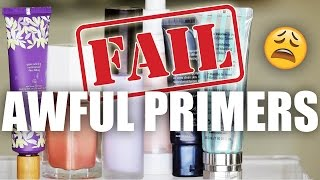 WORST LUXURY PRIMERS | Save Your Money !!!