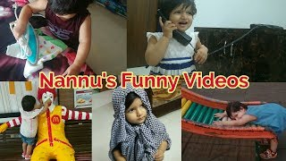 Funny Cute Baby Video | Nannu's Funny Moments