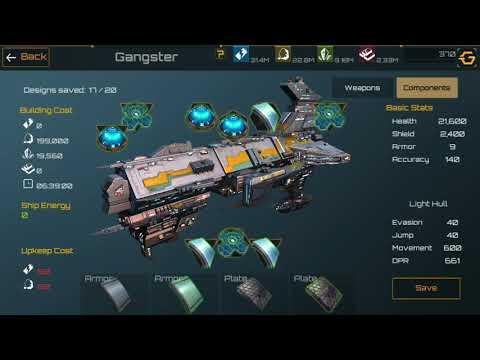 Nova Empire. Nogard. My ship designs.