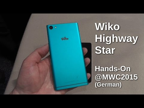 Wiko Highway Star Hands On auf dem MWC 2015
