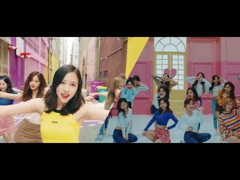 TWICE LIKEY AND HEART SHAKER MV LYRICS