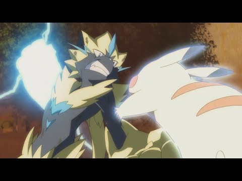 Ash Vs Zeraora [FULL FIGHT] - Pokemon: The Power Of Us「AMV」