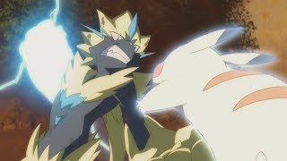 Ash Vs Zeraora [FULL FIGHT] - Pokemon: The Power Of Us「AMV」