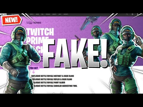 Fortnite Twitch Prime Pack #3 EXPLAINED!