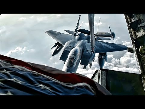F-15 Strike Eagle Pilots Talk BS While Aerial Refueling