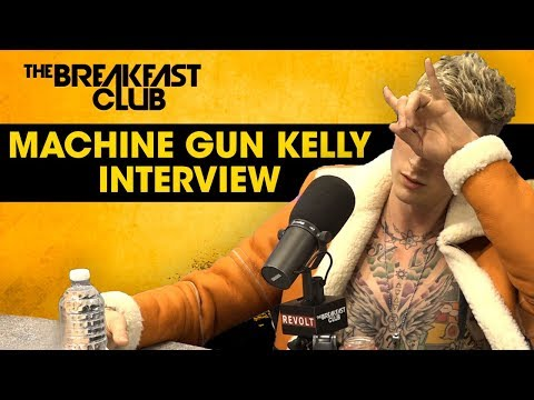 Java Joel - Machine Gun Kelly talks Eminem beef, Hasley hook-up & MORE {Video}