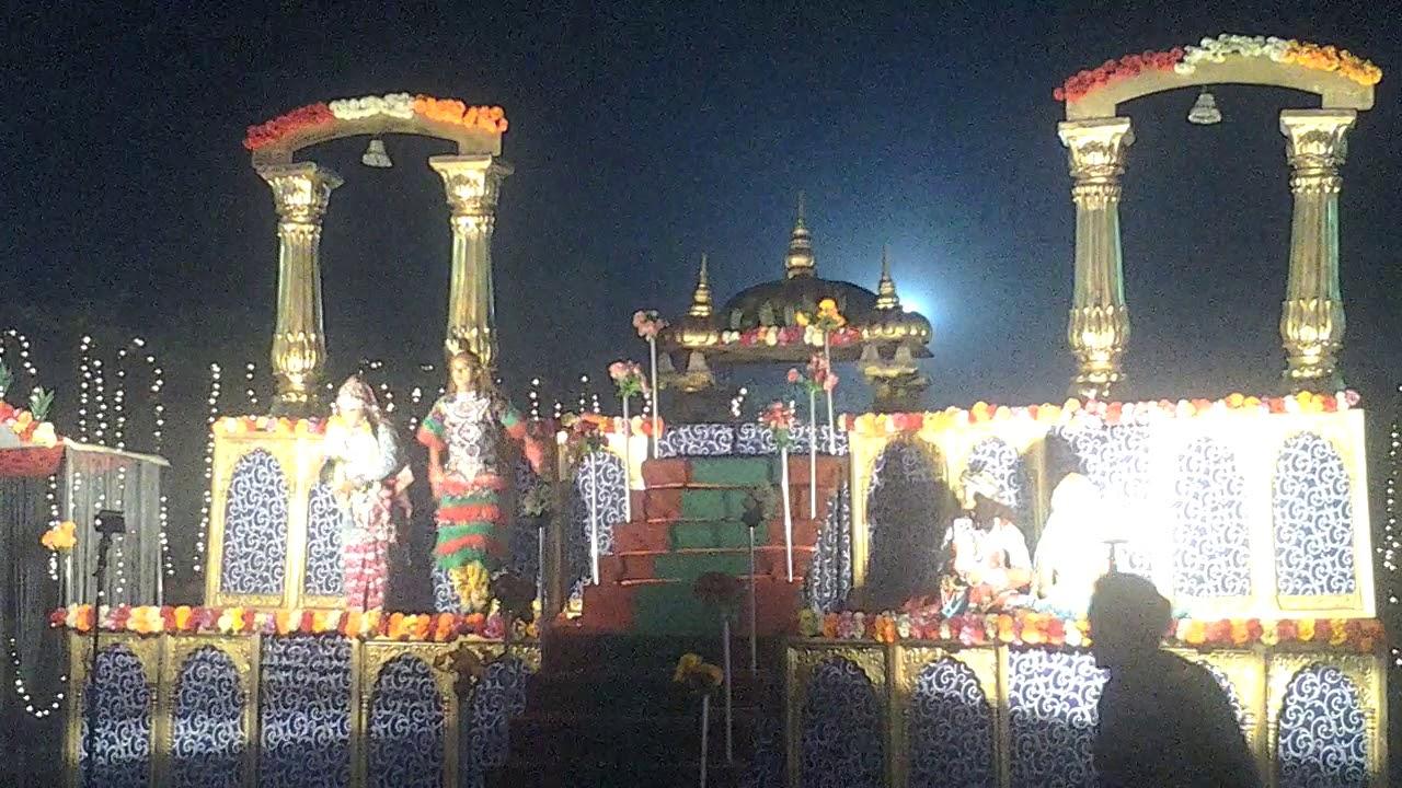 Best Temple Jaimala Themes For Wedding Big Mandir Theme Hydraulic