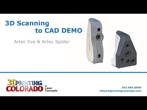 3D Scanning to CAD DEMO