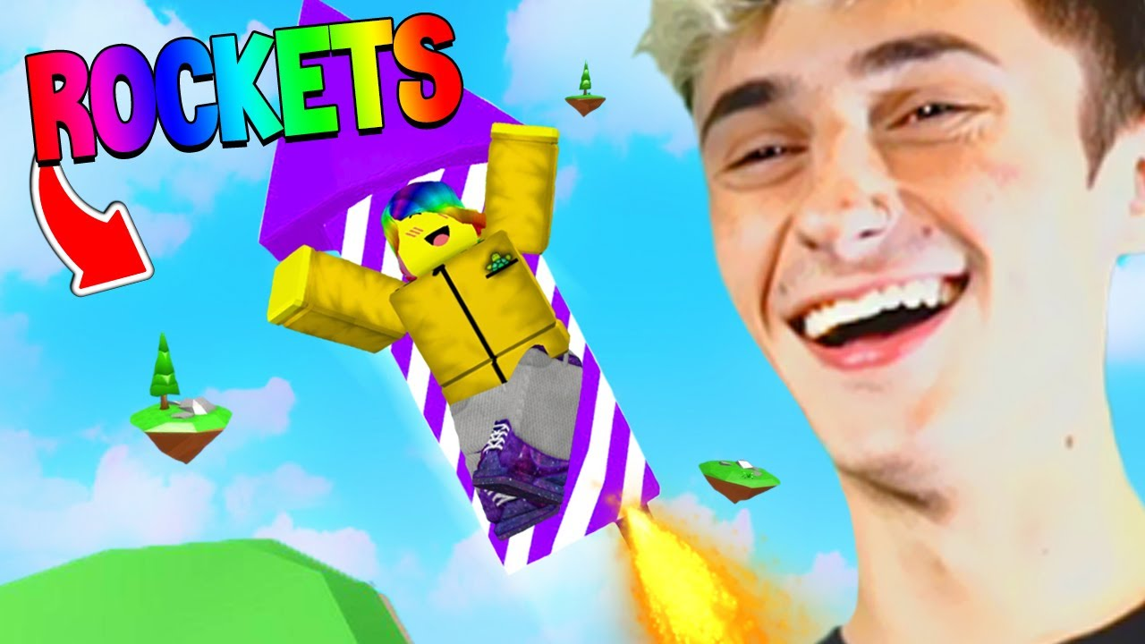 Roblox RAG DOLLS but with ROCKETS.. 🚀