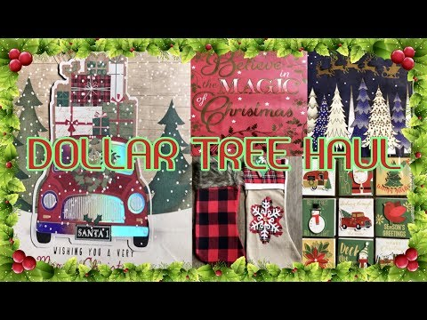A MUST SEE DOLLAR TREE HAUL   ALL NEW CHRISTMAS FINDS 🎄🎄2019   NOVEMBER 1 2019
