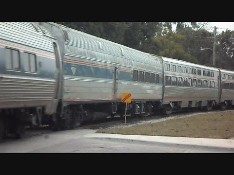 Thumbnail: Amtrak Train Hits Speed Restricted Sign