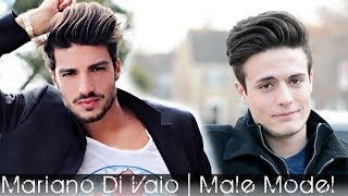 Male Model Hair 2014 | Mariano Di Vaio Hair Tutorial | Men
