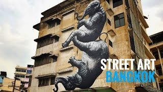 Street Art Bangkok (Thailand) documentary
