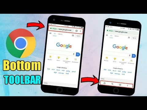 Enable Bottom Toolbar In Google Chrome Browser New Trick 2019 | Chrome  Browser Secret Trick