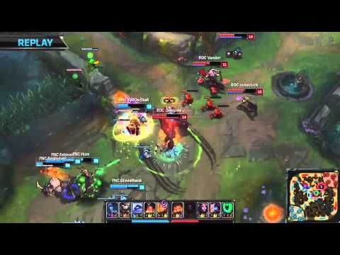 LCS EU Spring 2015 - FNC Vs ROC - Amazing Rite Of The Arcane