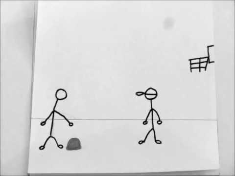 Stop Motion Flipbook: 1 on 1 Basketball - YouTube