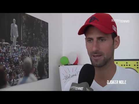 Novak Djokovic Speaks Italian - Rome 2017 (HD)