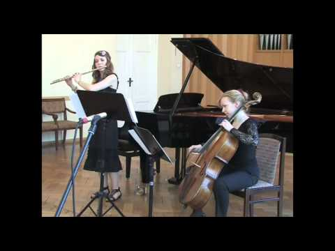 Alisa Klimanska and Dace Zalite play 'Assabio a Jato' by Villa-Lobos