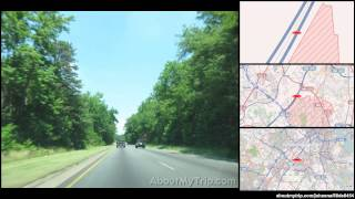 Baltimore-Washington Parkway (Greenbelt, MD) to Frederick Road (Catonsville, MD) via Laurel,  (...)