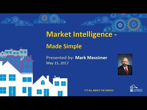 Market Intelligence Made Simple  May 15, 2017