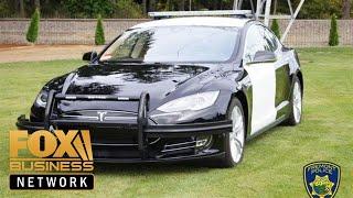 tesla-police-car-ran-battery-police-pursuit