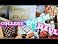 COLLEGE DORM HAUL (For My Sister)
