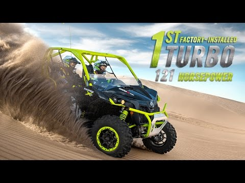 The 121-HP Can-Am Maverick X ds Turbo | Full-length