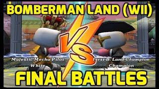 Bomberman Land (Wii) - Championship Battle and Ending