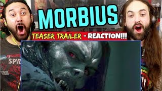 MORBIUS - Teaser TRAILER | REACTION!!!