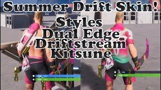 Fortnite Summer Drift Skin Set Review!