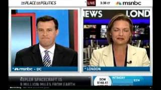 MSNBC talk about the U.K. Ministry of Defense Release of new UFO files Aug 18th 2009