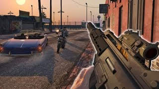 GTA 5/GTA V - PS4/Xbox One Gameplay (First Person Mode) (GTA 5 PS4 Gameplay)