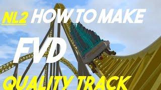 nl2 how to make fvd quality track handbuilding