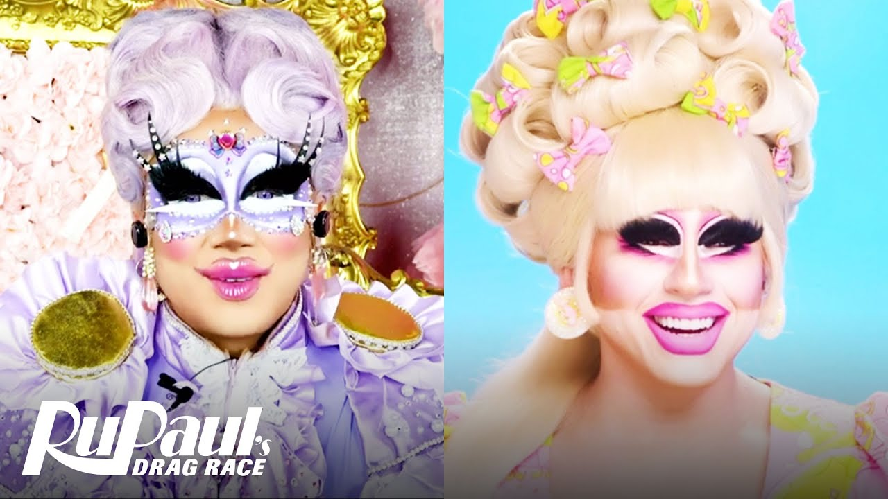 Download The Pit Stop S13 E6 | Trixie Mattel & Rock M. Sakura Boogie on Disco-Mentary' | RuPaul's Drag Race