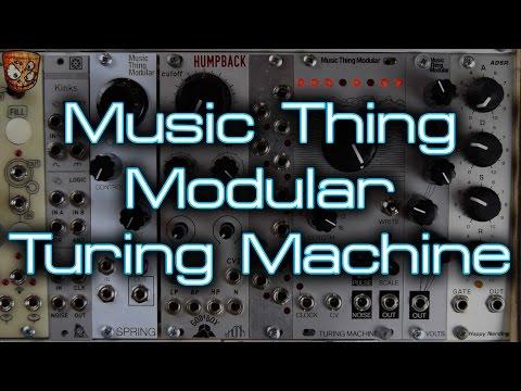 Music Thing Modular - Turing Machine mkii 2016