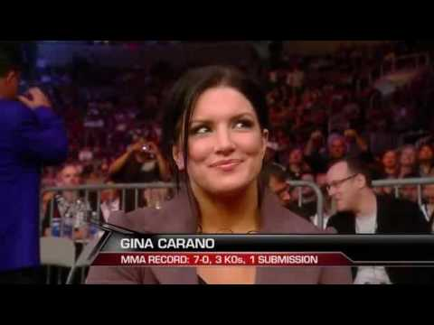 Gina Carano at Strikeforce (HQ)