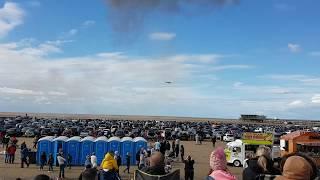 Southport Air Show 2017: Spitfire & Buchon