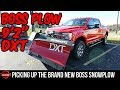 """It's Here!! Picking Up My BOSS Snowplow! - Brand New BOSS DXT 9'2""""! [Lawn Care Vlog]"""