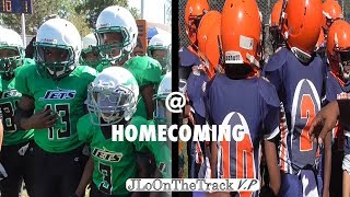 Eastside HOMECOMING Game!! 🐶🏈 | Eastside Bulldogs vs South Holland Jets 12U | Homecoming Parade