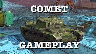 World of Tanks Blitz : Comet Gameplay ( 263m Ammo Rack kill!!)