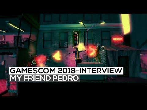 My Friend Pedro - Interview mit Victor Ågren   gamescom 2018